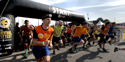 Image of Survival of the Fittest race